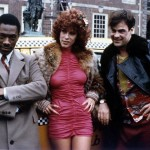 Eddie Murphy Jamie Lee Curtis and Dan Aykroyd at Independence Hall