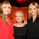 Dakota Johnson, Tippi Hedren, Melanie Griffith