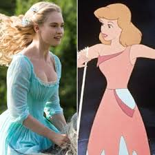 Disney's Cinderella, 2015 and Cindy, 1950