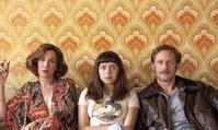Kriten Wiig, Bel Powley and Alexander Skarsgard in Diary of a Teenage Girl.