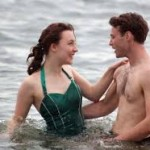 "Saiorse Ronan and Emory Cohen in ""Brooklyn"""