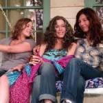 "Elizabeth Olsen, Jane Fonda and Catherine Keener in ""Peace, Love & Misunderstanding."""