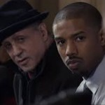 Creed (Michael B. Jordan) has Rocky (Sylvester Stallone) in his corner.