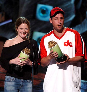 Carrie Rickey » Adam Sandler and Drew Barrymore: In ...